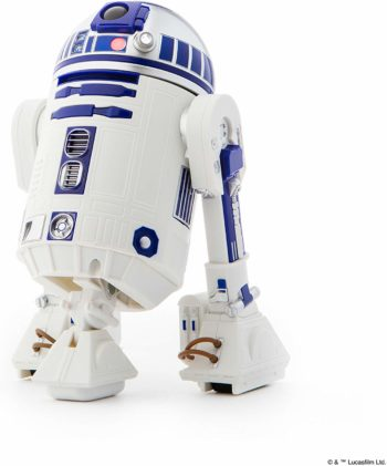 This is an image of a lifesize R2D2 Robot Toy