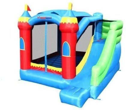 This is an image of Royal Palace Inflatable Bounce House W/Slide Bouncer
