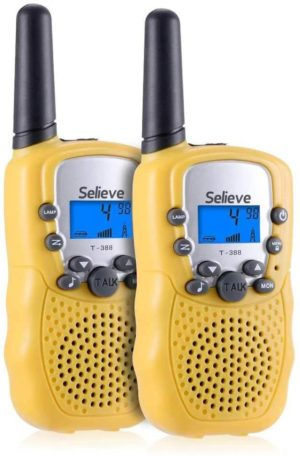 This is an image of Selieve Kids Walkie Talkies, 22 Channel 2 Way Radio