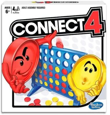 This is an image of Hasbro Connect 4 Game