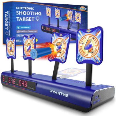 Image of Nerf Electric Target Shooting Game