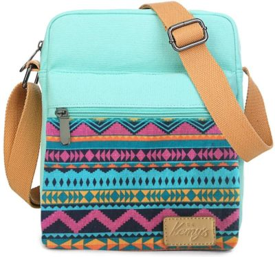This is an image of Kemy's Girls Stripe Tween Purses Set Small Crossbody Purse for Teen Girls