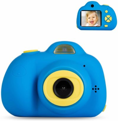 This is an image of Deeteck Kids Video Camera Gifts for 3-6 Year Boys,