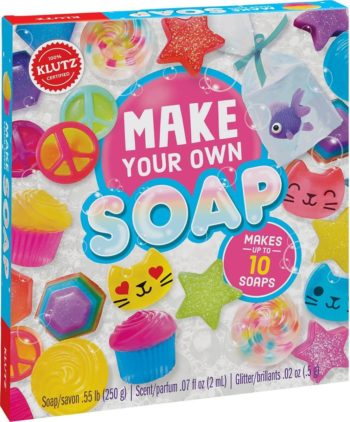 This is an image of Klutz Make Your Own Soap Craft & Science Kit