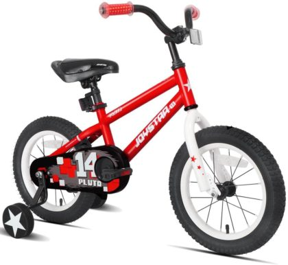This is an image of JOYSTAR Pluto Kids Bike with Training Wheels