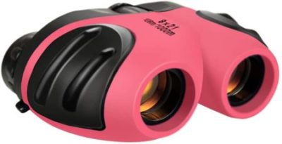 This is an image of Dreamingbox Compact Shock Proof Binoculars for Kids -Best Gifts