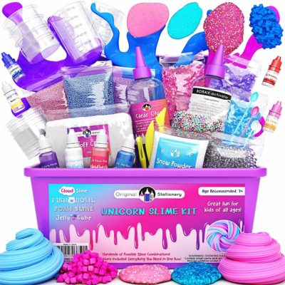 This is an image of Unicorn Slime Kit