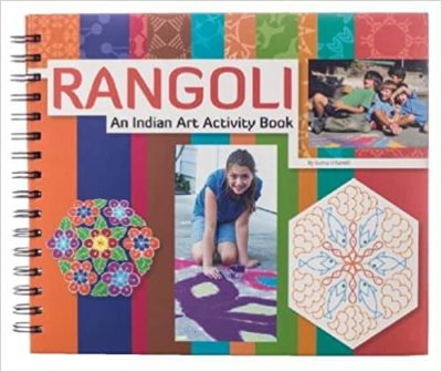 This is an image of Rangoli: An Indian Art Activity Book