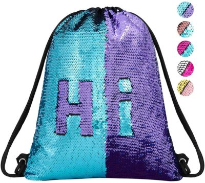 Image of Mermaid Drawstring Bag