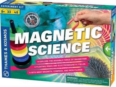 This is an image of Thames & Kosmos Magnetic Science | 33 STEM Experiments | Ages 8+
