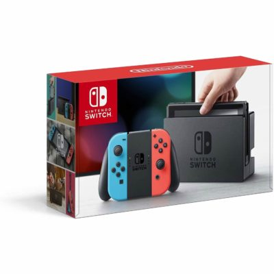 Image of Nintendo Switch – Neon Red and Neon Blue Joy-Con - HAC 001