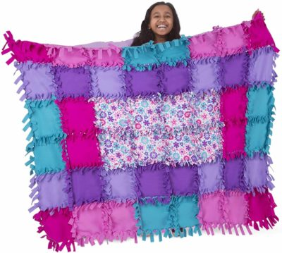 Image of Melissa & Doug Fleece Quilt Craft Kit