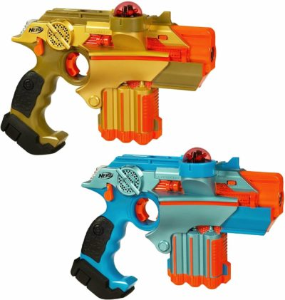 This is an image of Nerf Official: Lazer Tag Phoenix LTX Tagger 2-pack