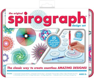 This is an image of Spirograph Design Tin Set