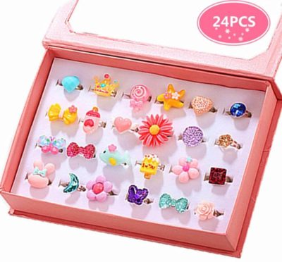 This is an image of PinkSheep Girls' Rings