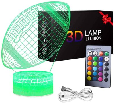 Image of 3D Soccer Ball Night Light