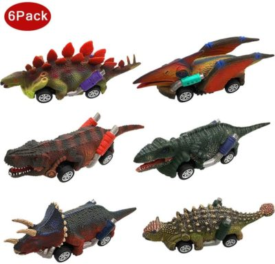 This is an image of Dinosaur Car Toys
