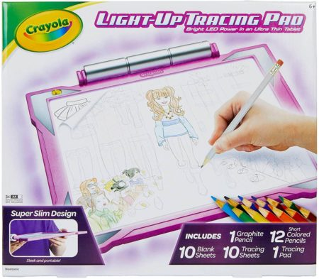 This is an image of Crayola Tracing Pad with LED
