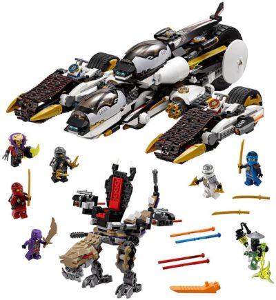 Image of LEGO NINJAGO Ultra Stealth Raider 70595