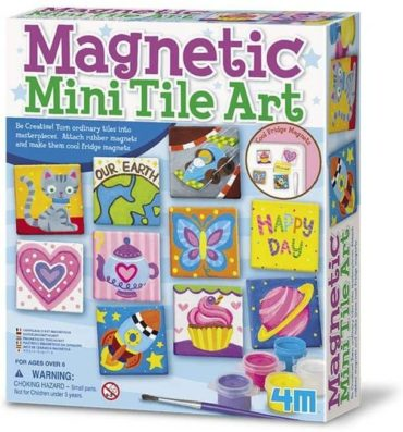 This is an image of 4M Tile Painting Kit