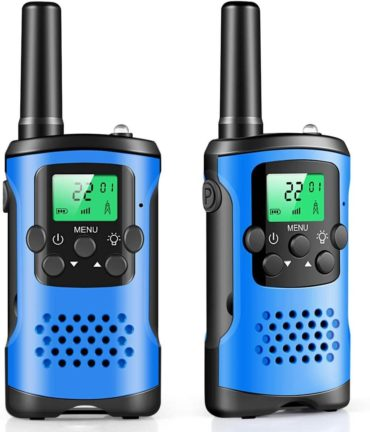 This is an image of Walkie Talkies for Kids, 22 Channel 2 Way Radio 3 Mile Long Range Kids Toys